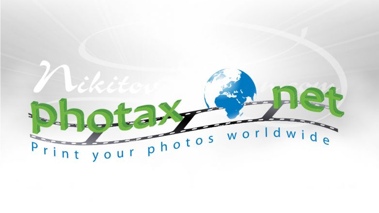 Лого за интернет сайт www.photax.net
