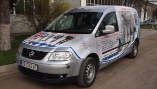 Облепване на фирмен автомобил VW Caddy Maxi