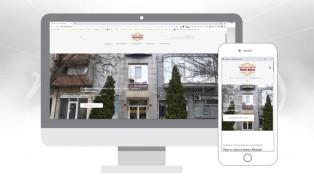 Сайт на Хотел - ресторант Москва - гр. Лом