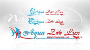 Лого за зоомагазин Aqua Zoo Lux