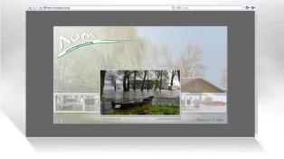 Флаш уеб сайт. Наводнение в Лом 2006 год.